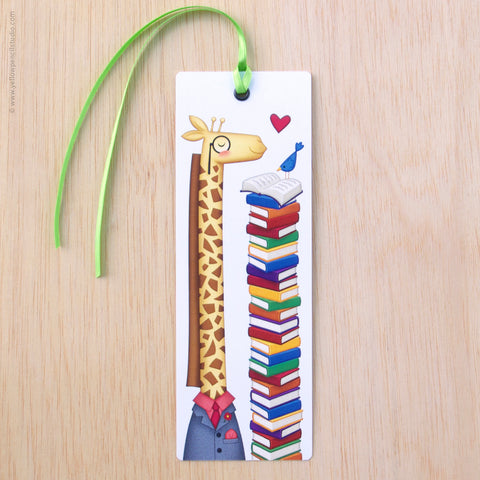 Giraffe Bookmark - Yellow Pencil Studio