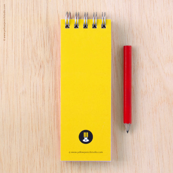 Giraffe Spiral Notebook - Yellow Pencil Studio