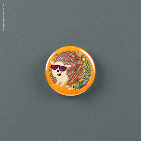 Rainbow Hedgehog Magnet - Yellow Pencil Studio