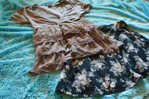 Dusty Rose Romantic Outfit