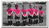 Pink Girls Soccer Uniforms by Breakaway Fashions