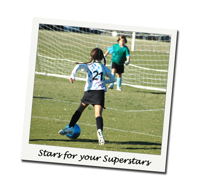 Stars Girls Soccer Uniform Jersey