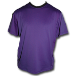Purplicious (Purple) Coach's Jersey trimmed in black at the collar - by Breakaway Fashions