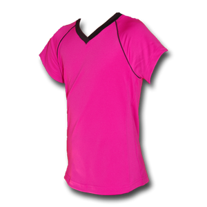 Hot Pink Girls Soccer Jersey - Razzle-Dazzle