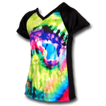 Tie-Dye Youth Girls Soccer Jersey
