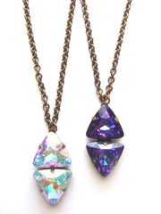 Jeweled Pendent Necklace-Pretty Little Thing