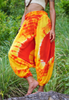 Harem Pants - Tie Dye - Yellow & Red