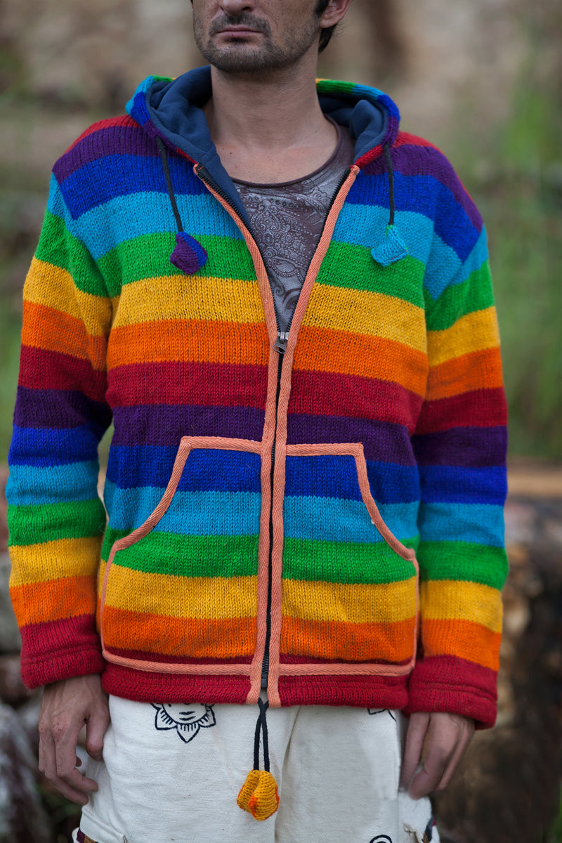 Wool Jacket - Rainbow