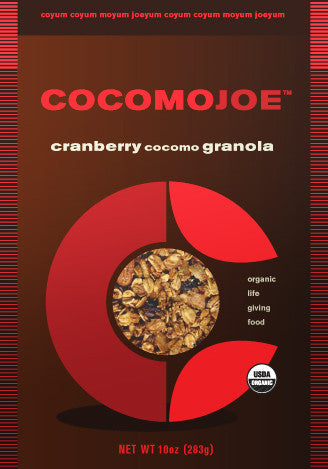 CRANBERRY cocomo GRANOLA - single