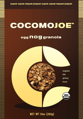 egg NOG granola - single