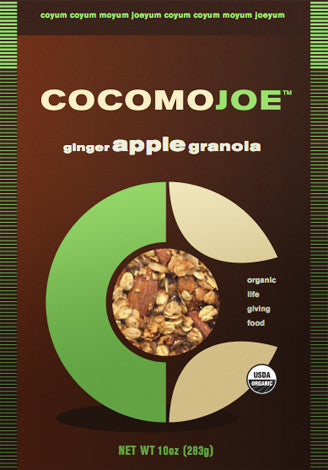 ginger APPLE granola - single