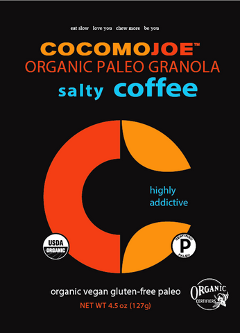 Salty Coffee Paleo Granola