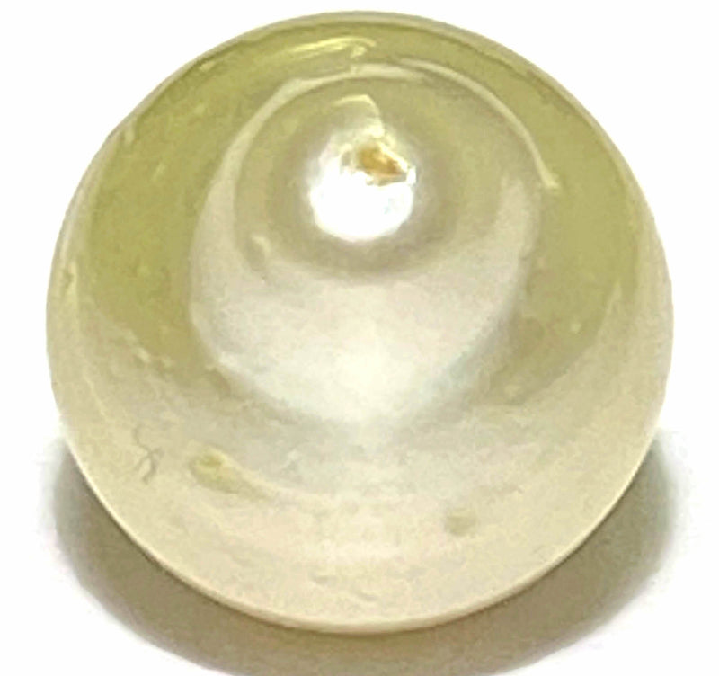 1 Only Natural Cream Gold 12.1mm South Sea Pearl Ring