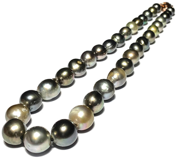 Gorgeous 14.4 x 16mm Teardrop Gold South Sea Pearl Vintage Pendant