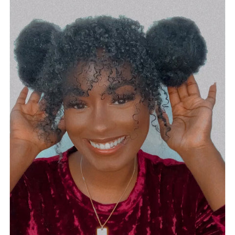 Styling Sessions: Alexus Crown's Curly Space Buns