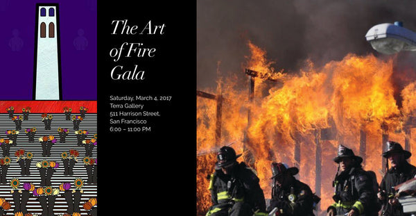 John Kraft at the Art of Fire Gala