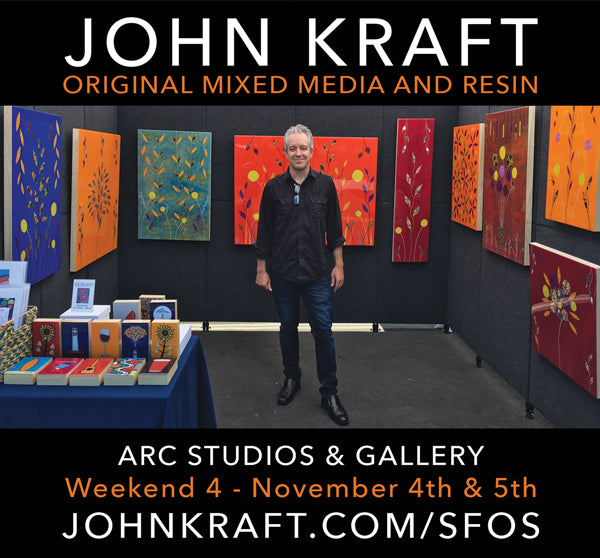 John Kraft at SF Open Studios 2017