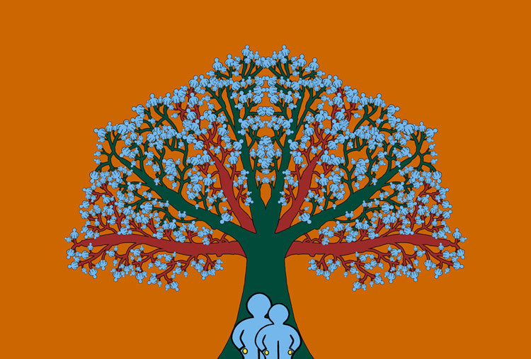 Family Tree art print by John Kraft