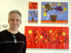 John Kraft and Flower Power at CITY ART Gallery