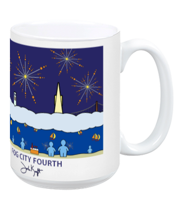 Fog City Fourth Mug