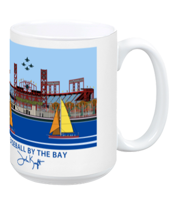 Baseball by the Bay Mug