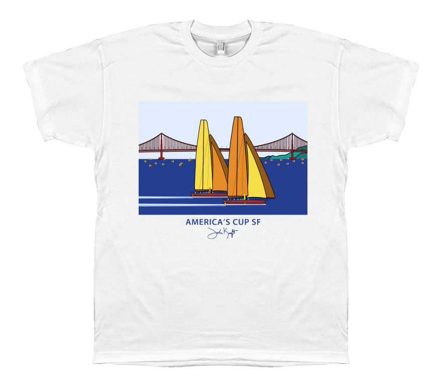 America's Cup SF T-shirt