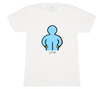 Blue Figure T-shirt