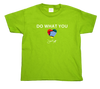Kid's Do What You Love T-Shirt (lime green)