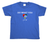 Kid's Do What You Love T-Shirt (royal blue)