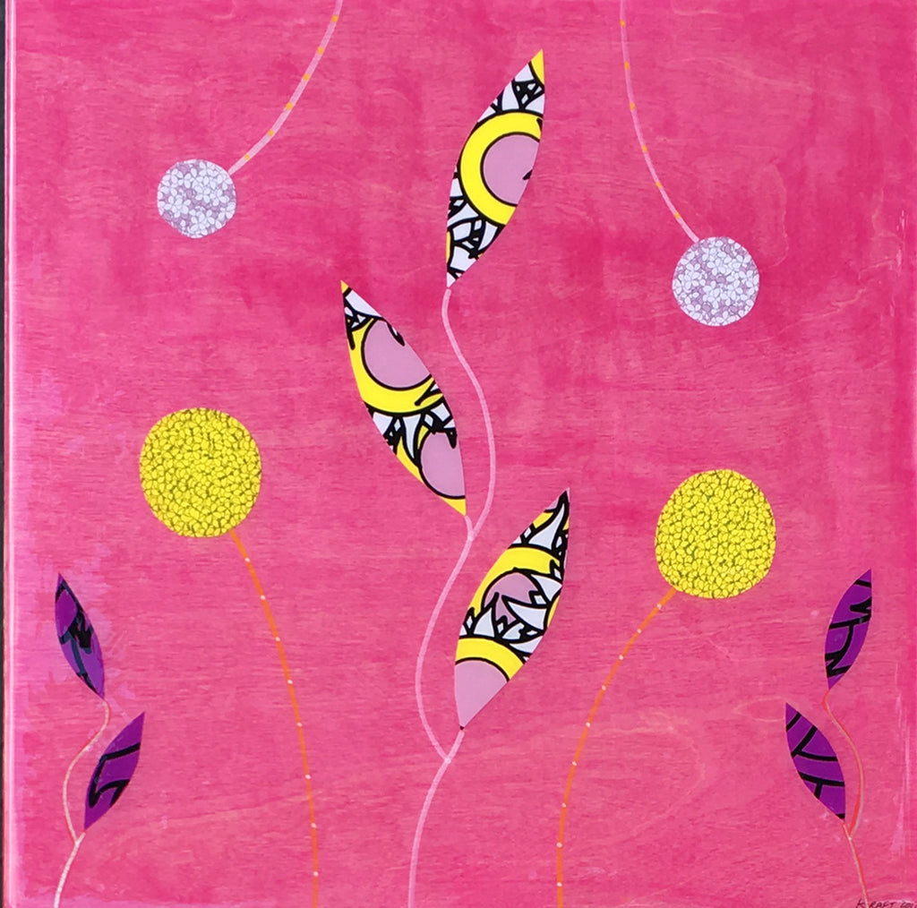 Pretty In Pink (16 in. x 16 in.)