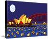 Sydney Sails on Canvas (unframed)