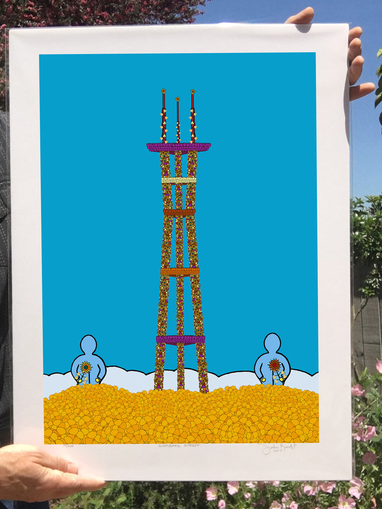 Sutro Flowers (ready to frame fine art print)