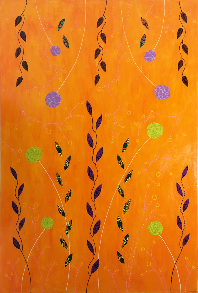 Wild Honey by John Kraft (48 in. x 72 in.)