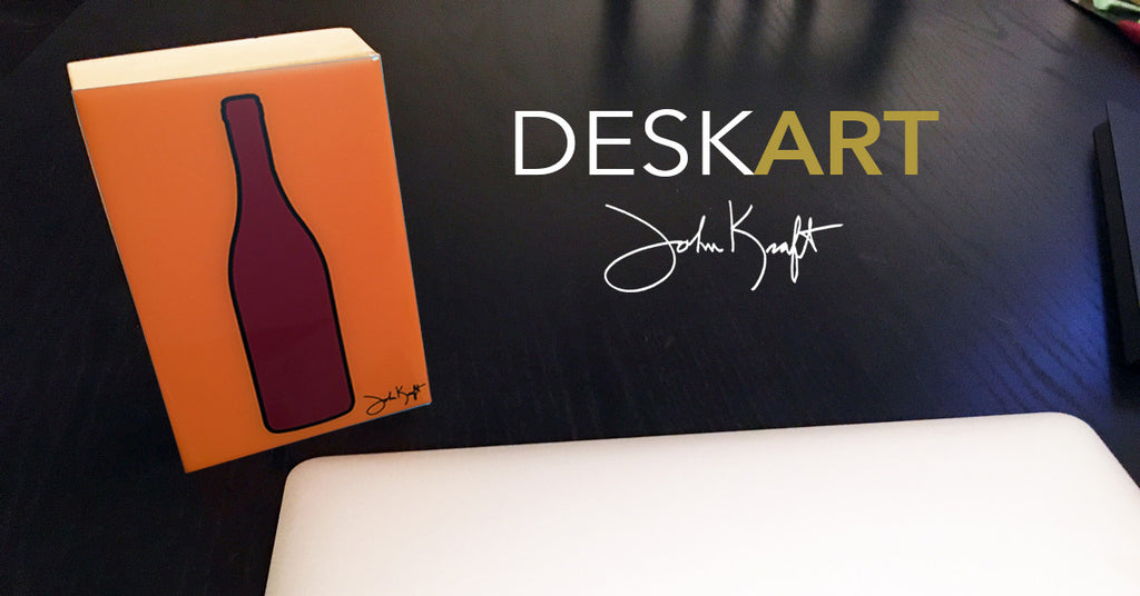 Wine Bottle DESKART by John Kraft
