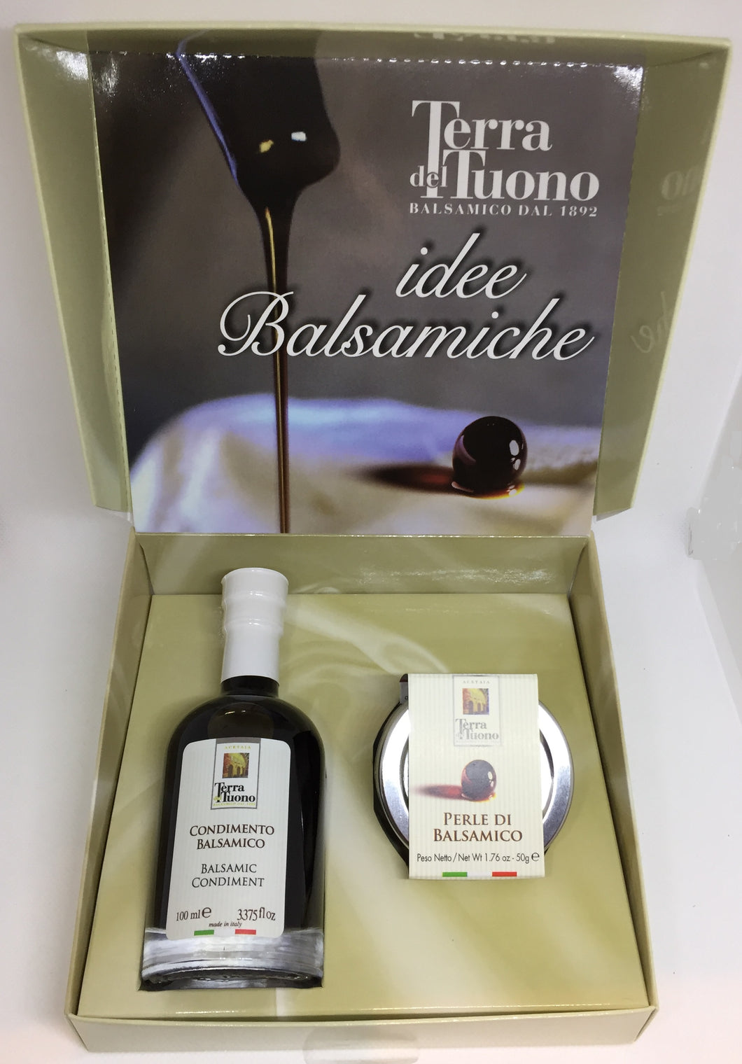 Balsamic Vinegar and Pearls Gift Box