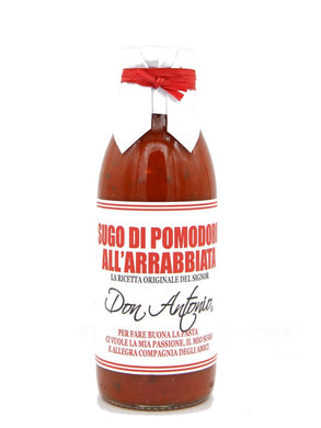 Sugo all'Arrabbiata Spicy Tomato Sauce 500 gr.