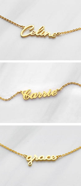 Personalized Bar Necklaces - custom made by hand