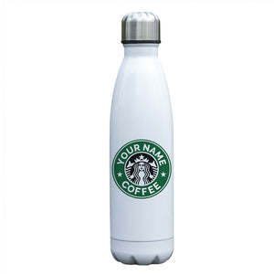 Personalized Starbucks Inspired Insulated Vacuum Bottle Tumbler
