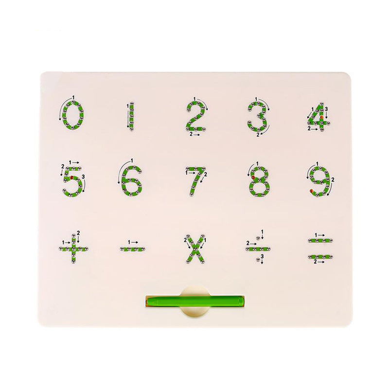 MagnaTab - Magnetic Alphabet Letter Tracing Learning Board