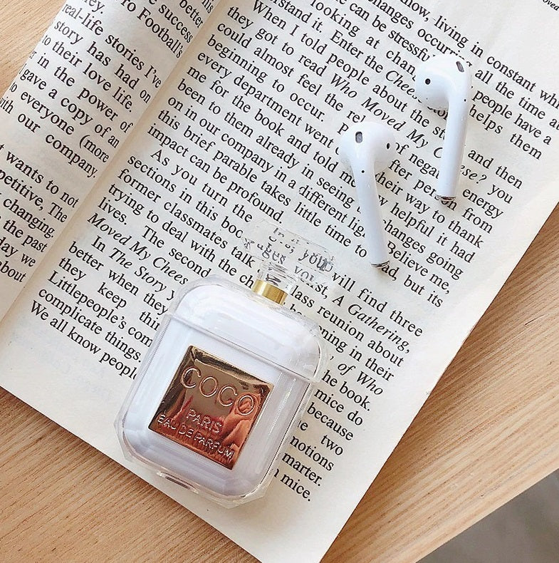 **CLEARANCE** Perfume Bottle Apple Airpods Silicone Case