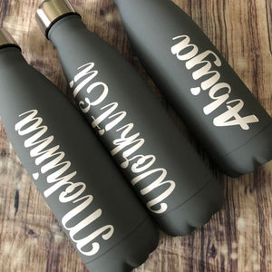 Personalised Gift Insulated Stainless Steel Water Bottle