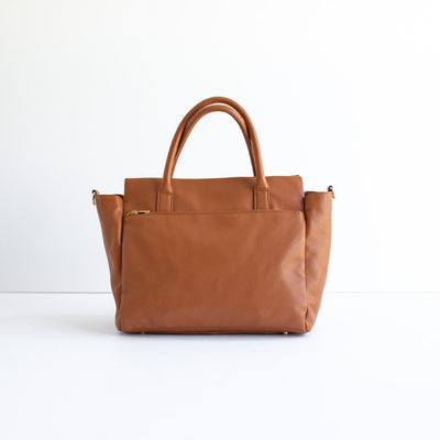 The Stella Tote - Tan Spot