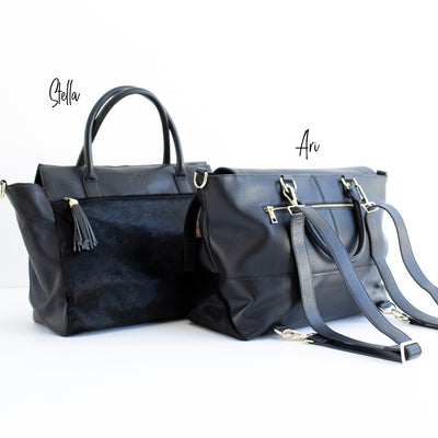 The Stella Tote - All Black