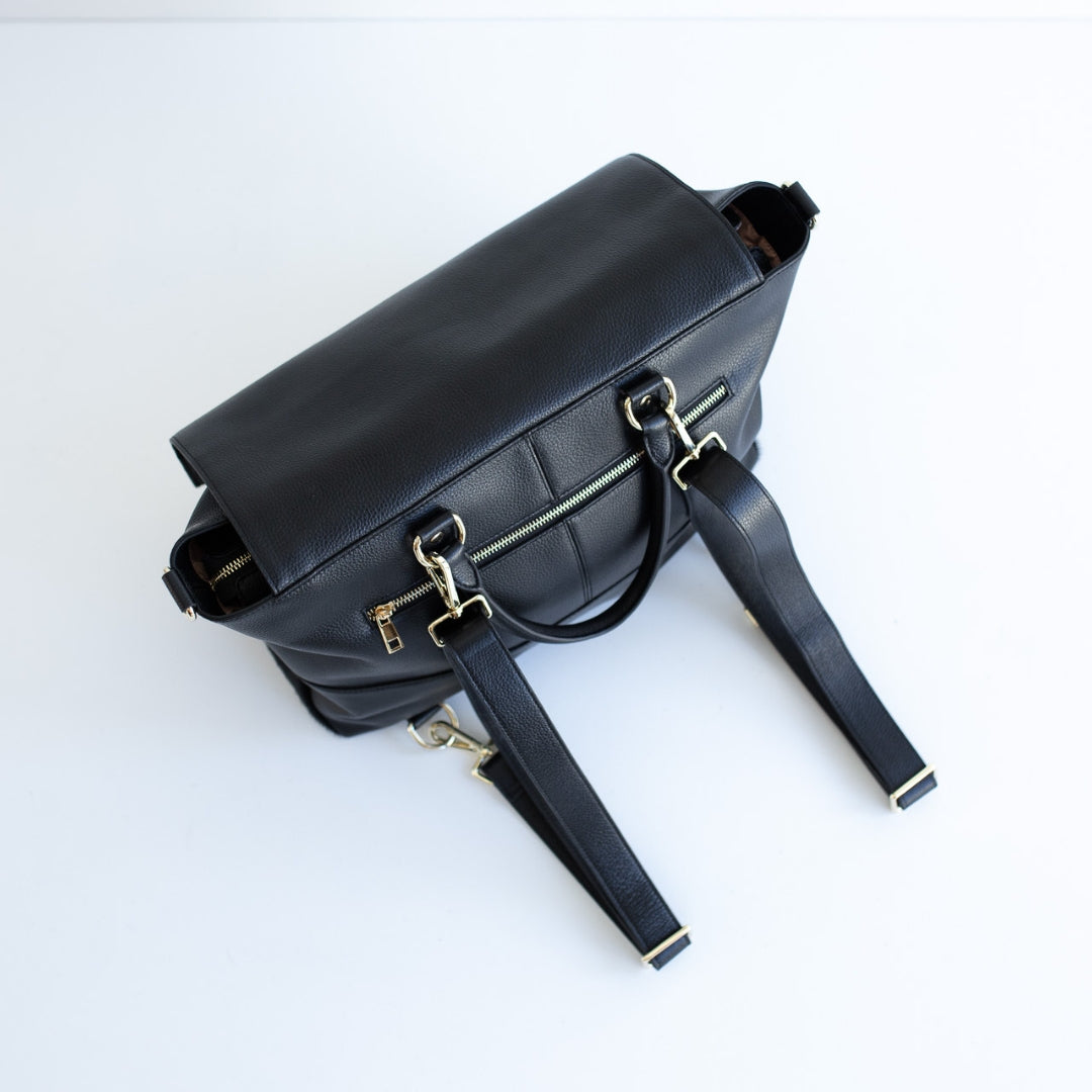 The Ari 3 Way Backpack - All Black