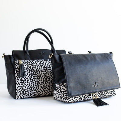 The Stella Tote - Black Spot
