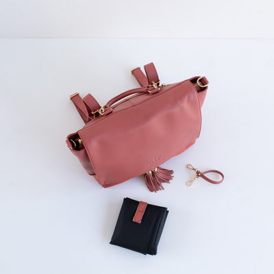 The Ari 3 Way Backpack - Rouge [Limited Edition]