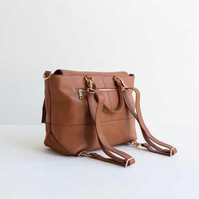 The Ari 3 Way Backpack - All Tan
