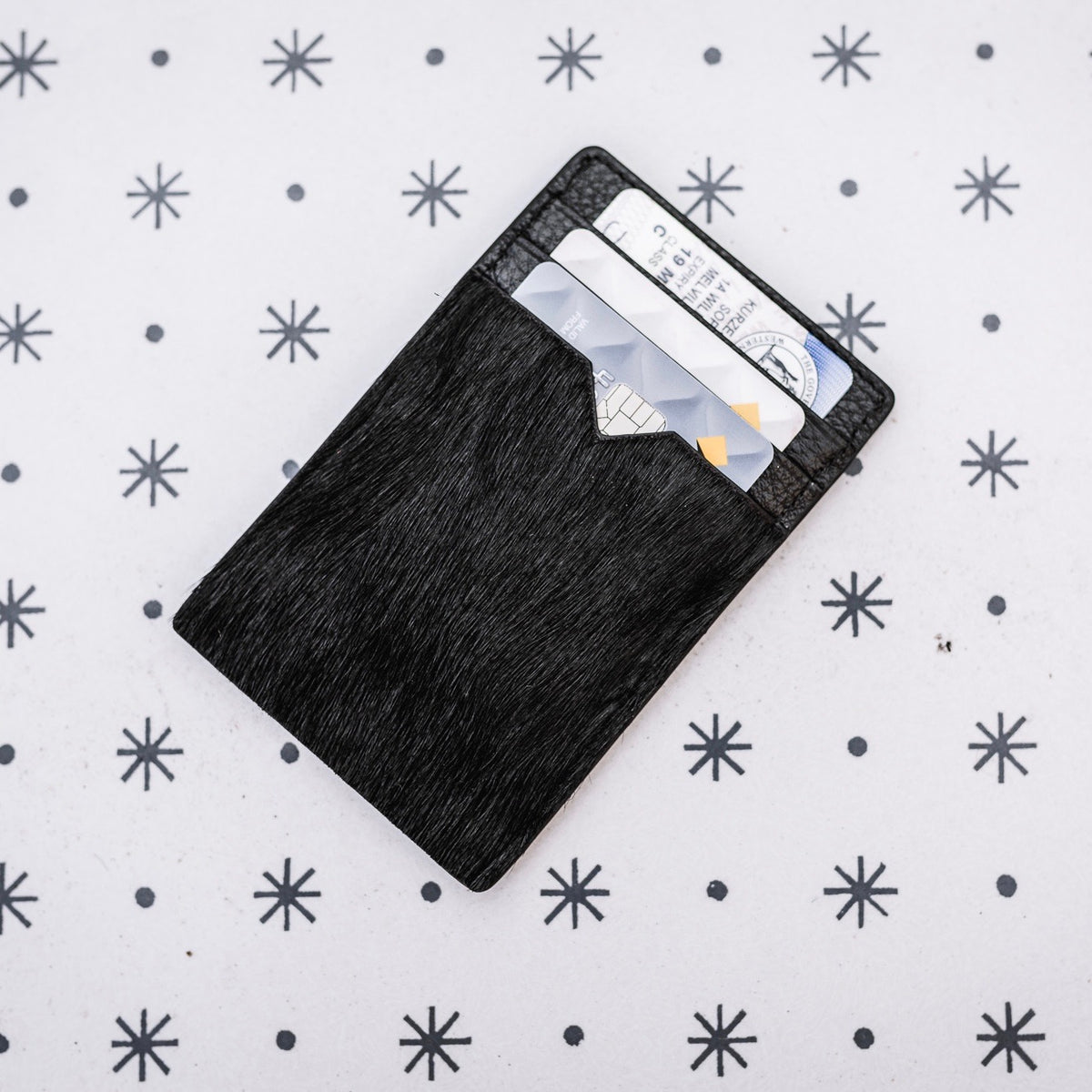 The Little John Card Slip - All Black