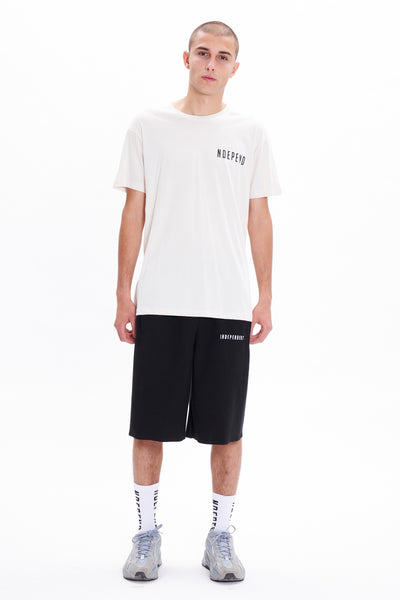 "T-shirt off white ""NDEPEND"" - Independent_wear"