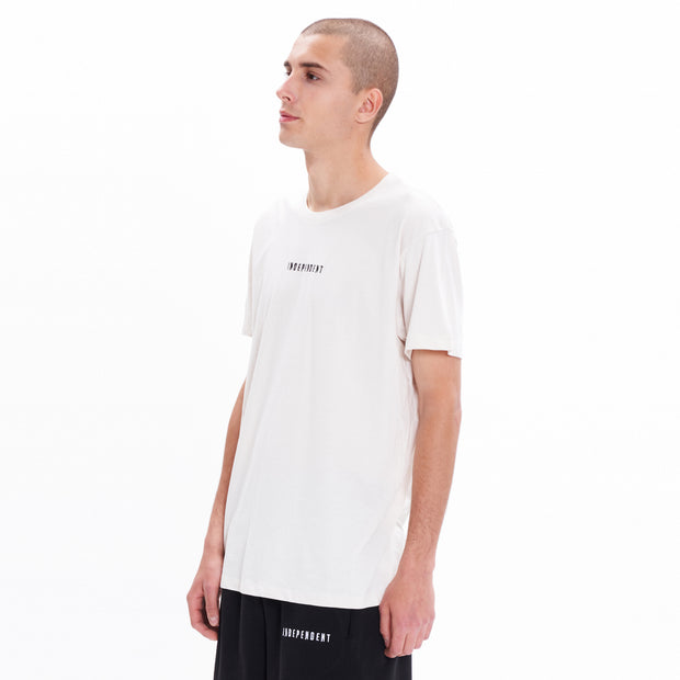 T-shirt off white ricamo - Independent_wear